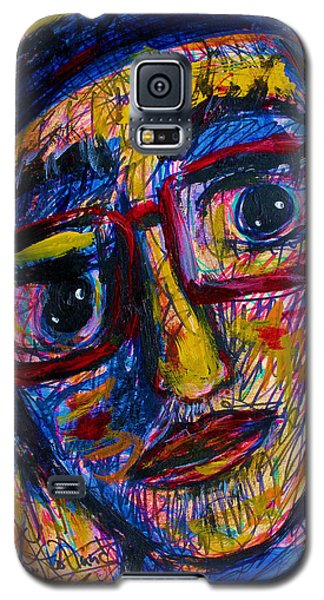 Face 11 Galaxy S5 Case by Natalie Holland