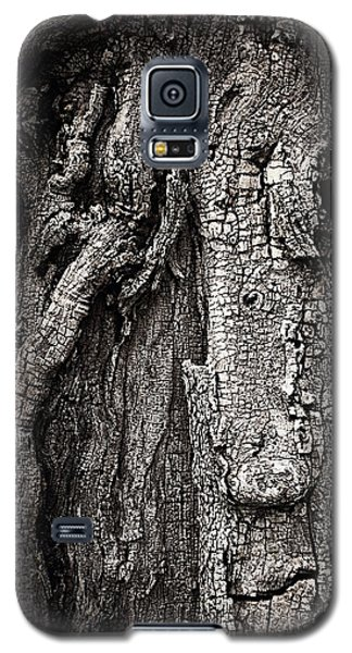 Face In A Tree Galaxy S5 Case