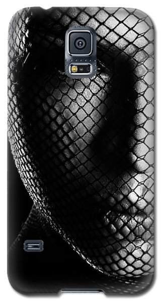 Face Lacemasked #4719 Galaxy S5 Case