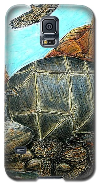 Face Off At The Waterhole Galaxy S5 Case
