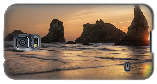 Face Rock Sunset Galaxy S5 Case