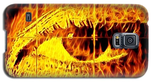 Face The Fire Galaxy S5 Case
