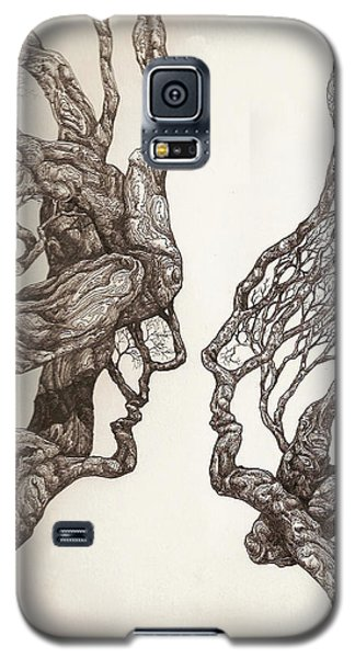 Face Tree 11 Galaxy S5 Case
