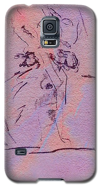 Galaxy S5 Case featuring the mixed media Faces Of Trivia by Steve Karol