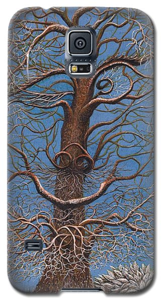 Facing A Frosty Sunset 2010 Galaxy S5 Case by Charles Cater