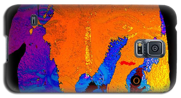 Galaxy S5 Case featuring the painting Facing The Fish by David Lee Thompson