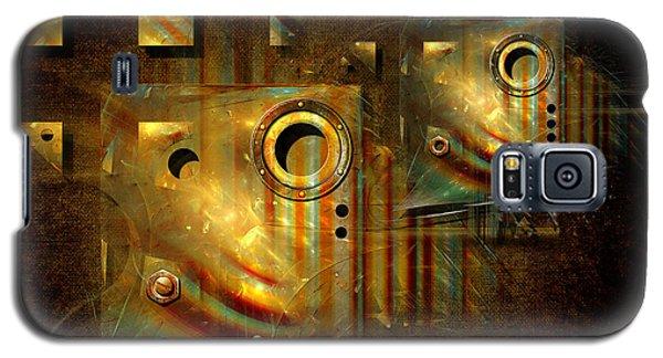 Galaxy S5 Case featuring the digital art Factory Atmosphere by Alexa Szlavics