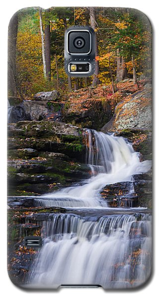 Galaxy S5 Case featuring the photograph Factory Falls 2 by Mark Papke