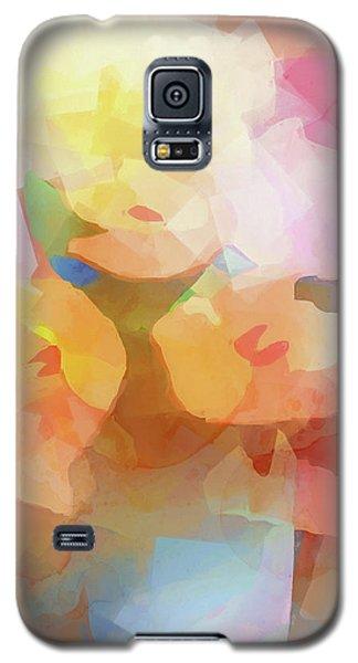 Faded Flowers Galaxy S5 Case