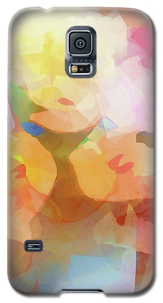 Faded Flowers Galaxy S5 Case