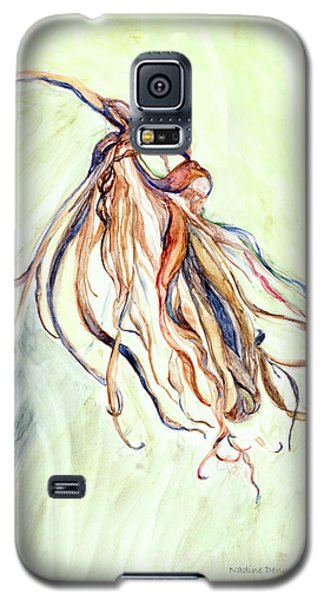 Galaxy S5 Case featuring the painting Faded by Nadine Dennis