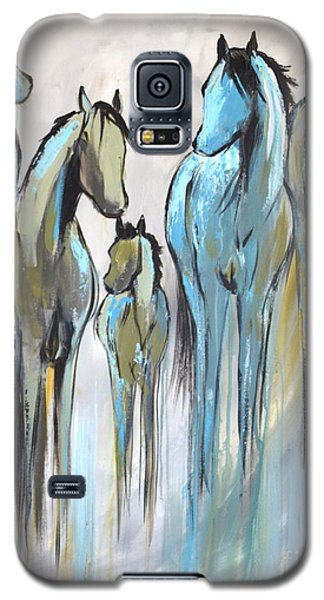 Galaxy S5 Case featuring the painting Fading 2 by Cher Devereaux