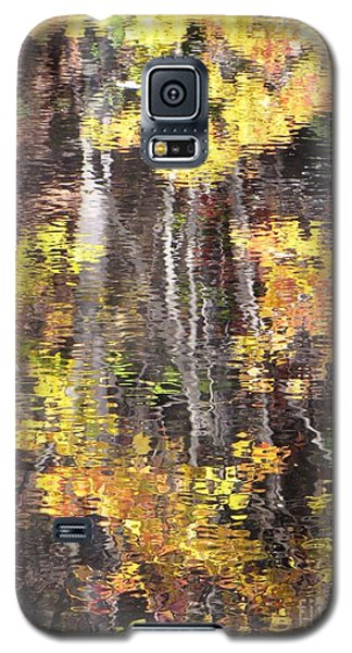 Fading Fall Water Galaxy S5 Case by Melissa Stoudt