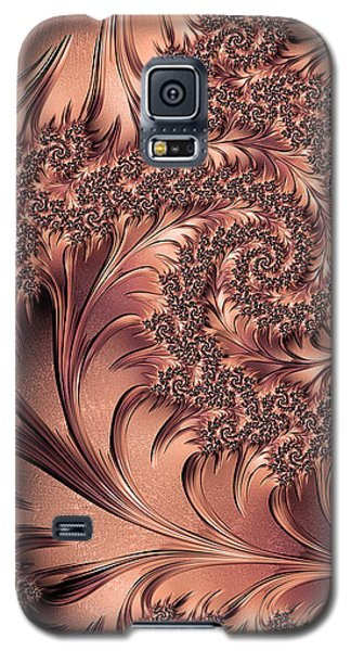 Galaxy S5 Case featuring the digital art Faerie Forest Floor I by Susan Maxwell Schmidt