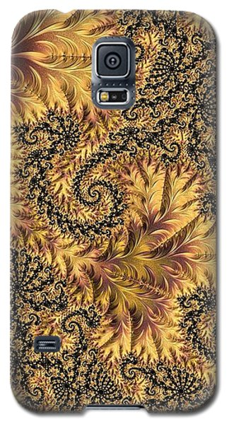 Galaxy S5 Case featuring the digital art Faerie Forest Floor II by Susan Maxwell Schmidt