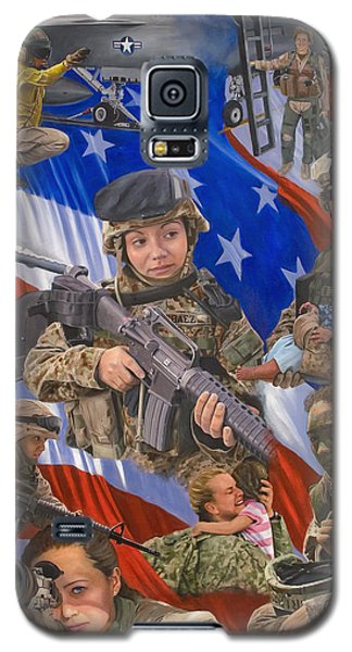 Fair Faces Of Courage Galaxy S5 Case by Karen Wilson