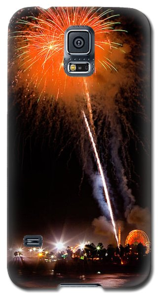 Fireworks As Seen From The Ventura California Pier Galaxy S5 Case