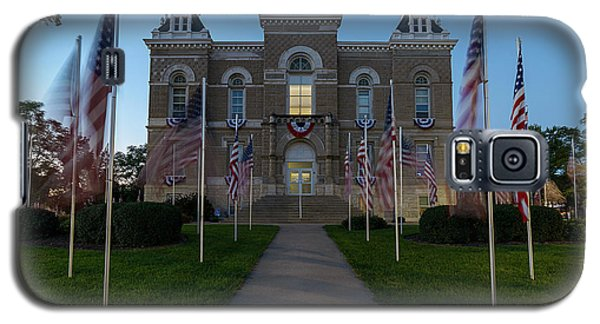 Fairbury Nebraska Avenue Of Flags - September 11 2016 Galaxy S5 Case