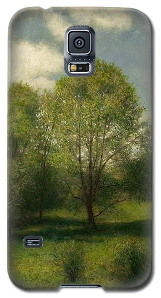 Galaxy S5 Case featuring the painting Fairchild Hill by Wayne Daniels