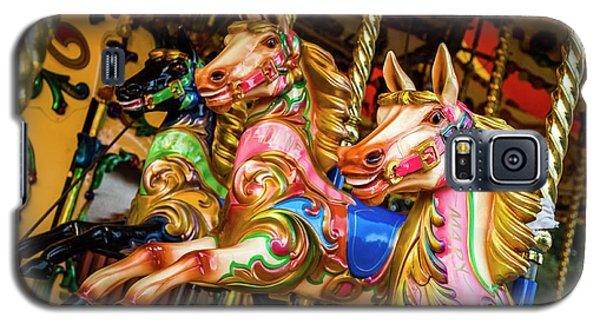 Fairground Carousel Horses Galaxy S5 Case