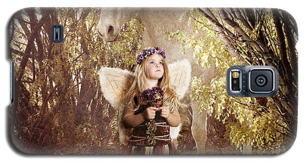 Fairy And Unicorn Galaxy S5 Case