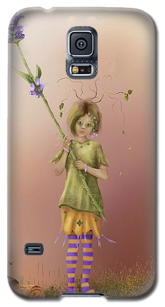 Fairy Bella Lavender Galaxy S5 Case