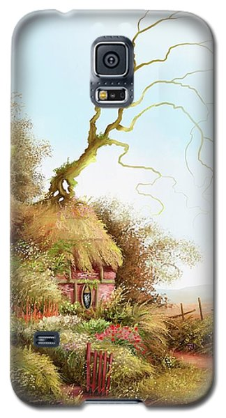 Fairy Chase Cottage Galaxy S5 Case