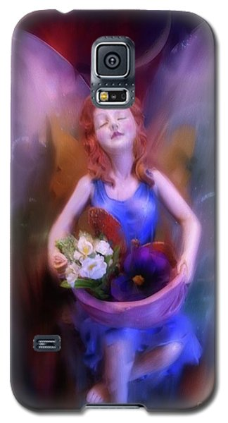 Fairy Of The Garden Galaxy S5 Case