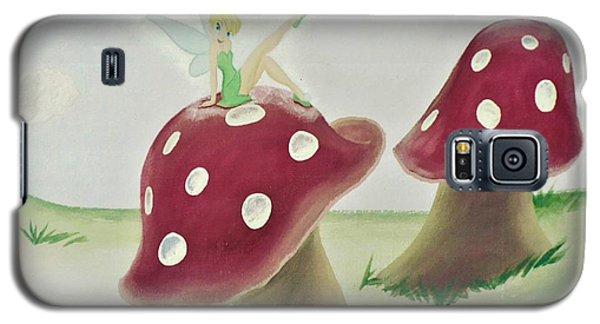 Fairy On Mushroom Trees Galaxy S5 Case