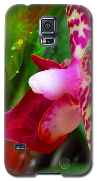 Fairy Orchid Galaxy S5 Case