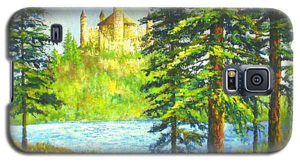Fairy Tale Castle Galaxy S5 Case by Lou Ann Bagnall