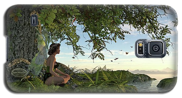Fairy Under The Tree Of Life Galaxy S5 Case