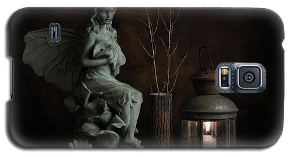 Fairy Galaxy S5 Case - Fairy With Lilies by Tom Mc Nemar