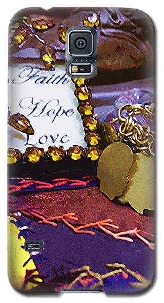 Faith Hope Love 4 Galaxy S5 Case