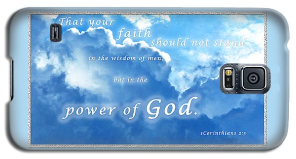 Faith In God's Power Galaxy S5 Case