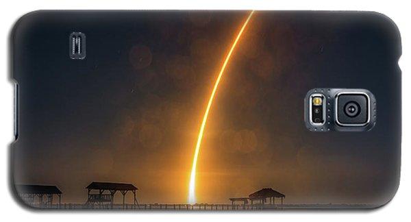 Falcon 9  Night Launch Galaxy S5 Case
