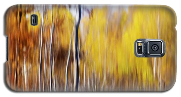 Galaxy S5 Case featuring the photograph Fall Abstract by Mircea Costina Photography