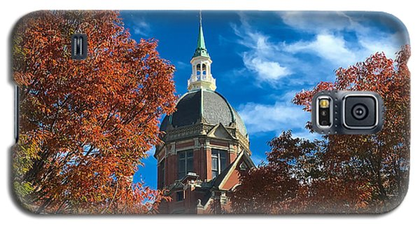 Fall And The Dome Galaxy S5 Case by Mark Dodd