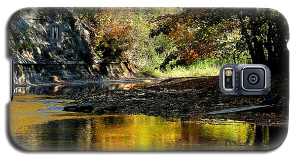 Galaxy S5 Case featuring the photograph Fall At Big Creek by Bruce Patrick Smith