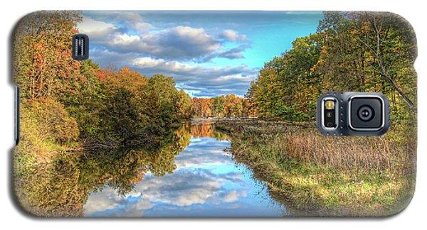 Fall At Brunswick Lake  Galaxy S5 Case