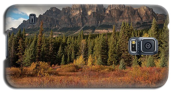Fall At Castle Mountain Galaxy S5 Case