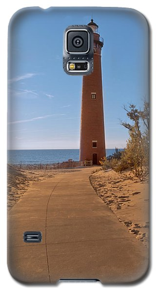 Fall At Little Point Sable Light Galaxy S5 Case