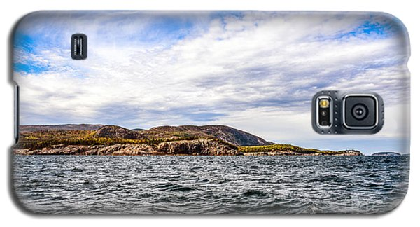 Galaxy S5 Case featuring the photograph Fall At Somes Sound by Anthony Baatz