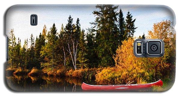 Fall At The Lake Galaxy S5 Case