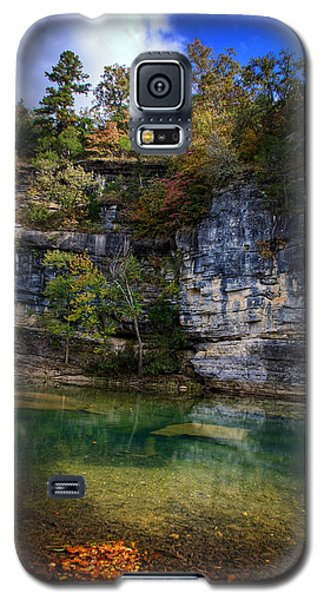 Fall Bluff At Ozark Campground Galaxy S5 Case
