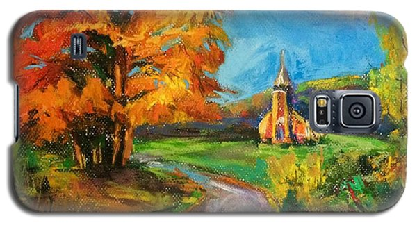 Fall Church Galaxy S5 Case by Jieming Wang