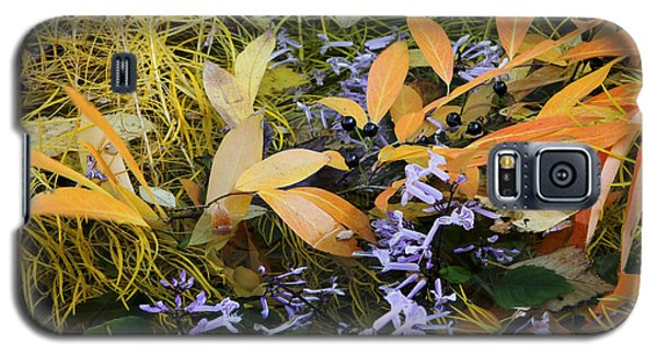 Galaxy S5 Case featuring the photograph Fall Color Soup by Deborah  Crew-Johnson