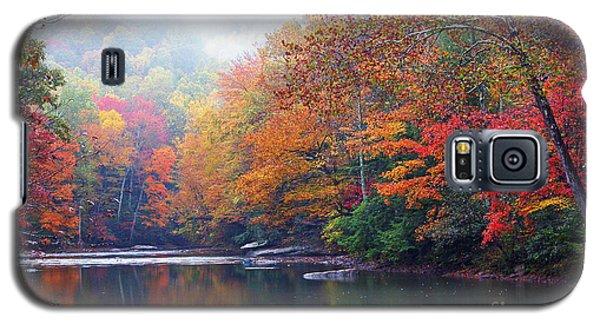 Fall Color Williams River Mirror Image Galaxy S5 Case
