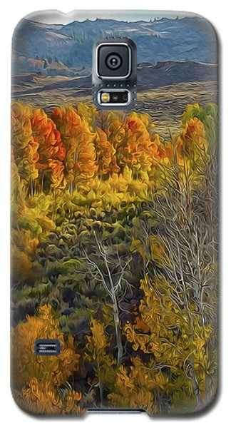 Fall Colors At Aspen Canyon Galaxy S5 Case
