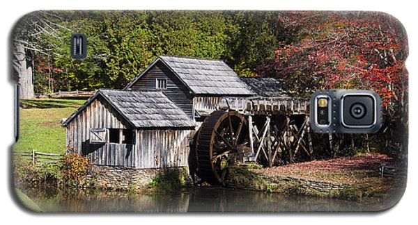 Fall Colors At Mabry Mill Blue Ridge Parkway Galaxy S5 Case